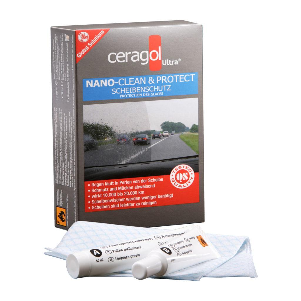Autoscheiben Set - Clean&Protect - mit Inhalt