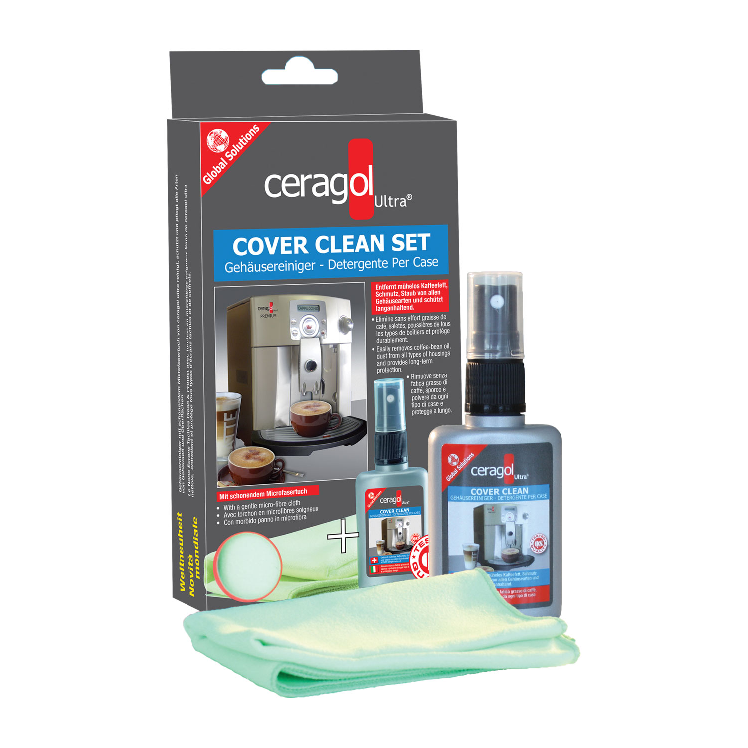 Cover Clean Set - mit Inhalt