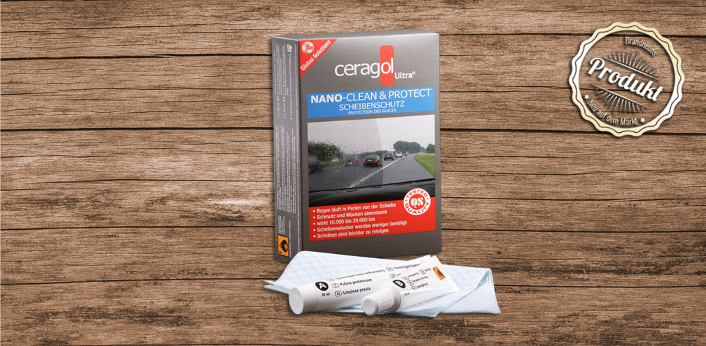 Clean&Protect Autoscheiben Set