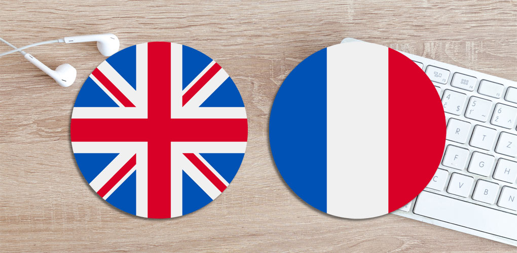 English & French